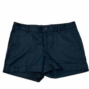 ARITZIA TALULA Black Cotton Shorts